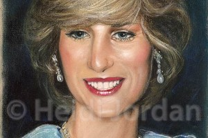 Princess Diana by Heidi Jordan